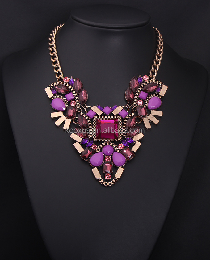 Oasis statement jewel Bib Necklace