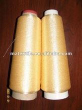 GOLDEN COLOR METALLIC EMBROIDERY YARN FLUORESCENT THREAD