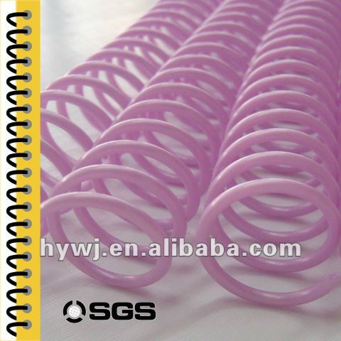 Printer Supplies plastic spiral making machine , eco-friendly-extrusion plastic spiral , plastic spiral binding printed books