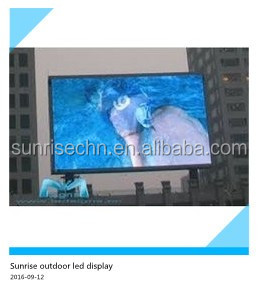 waterproof 7000nits P6 P8 P10 Sunrise new product 2016 outdoor electronic advertising board led for sale