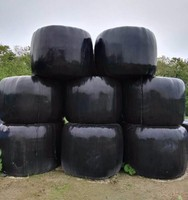 25mic x 750mm Black PE Silage Wrap Film