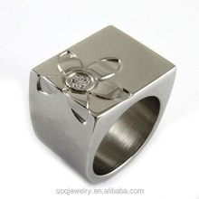 SR00177 custom cheap fashion ring fashion design china factory 316l stainless steel jewelry