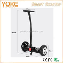 2016 hot sell powerful foot scooter 8 inch hoverboard with handlebar