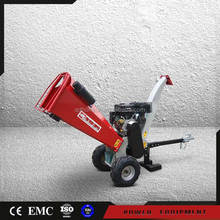 13hp Gasoline Engine Mini Mobile Wood Chipper