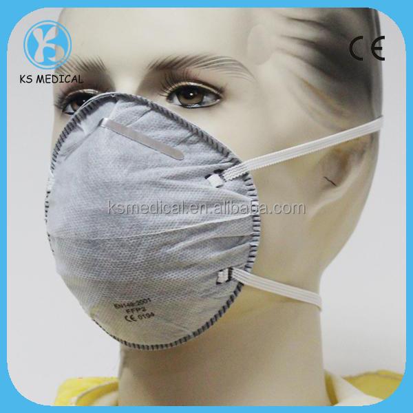Half Non Woven Active Carbon Face Mask