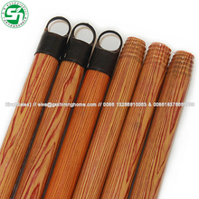 PVC Coated Wooden Broom Handle Less than 1 dollar