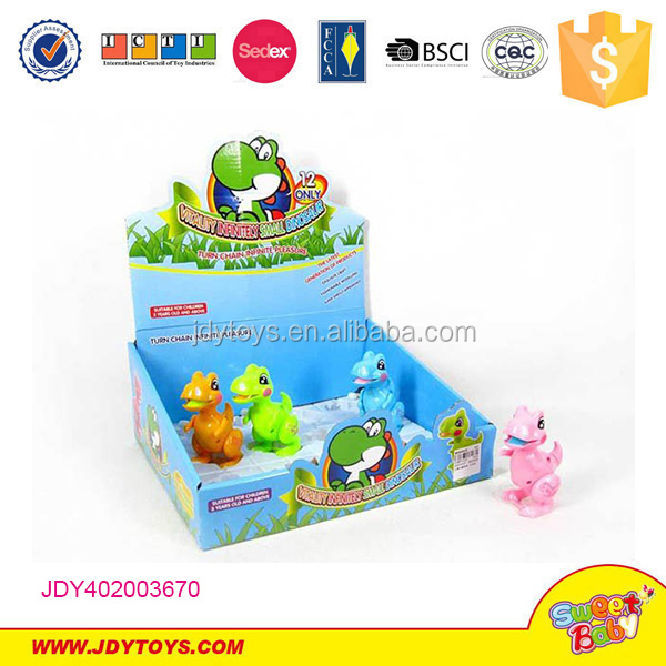 wind up lovely dinosaur plastic cute toys