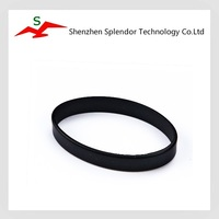 Factory directly custom hole adjustable silicone bracelet / wristband / rubber