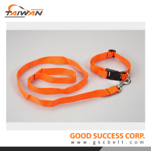 Taiwan made pets product dog collars wholesale dog leash and collar