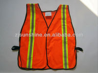 mesh fabric safety vest reflex for mechanical