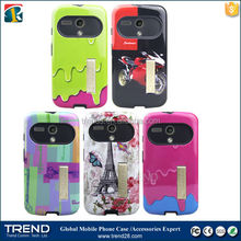 ice cream design pc+tpu shockproof hard case for motorola moto g