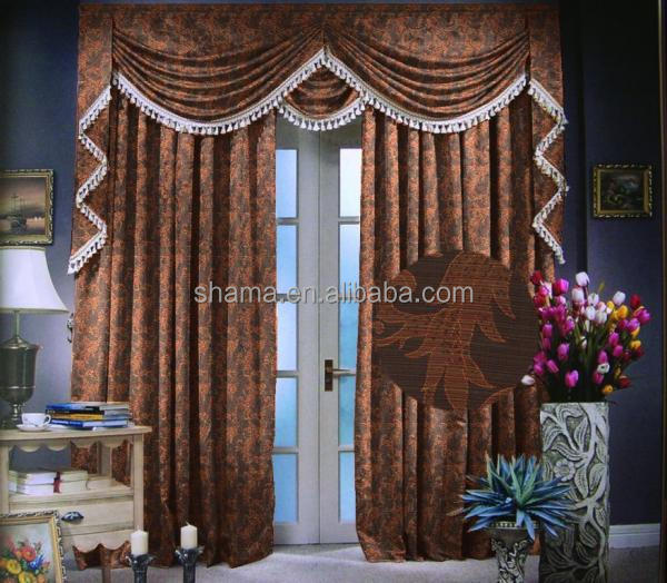 100% polyester fire retardant curtain fabric