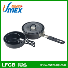 Good sale aluminium non-stick cookware polished aluminum cookware set cookset
