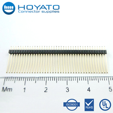 40 pins male car header connector pitch 1.27mm electrical connectors for cars
