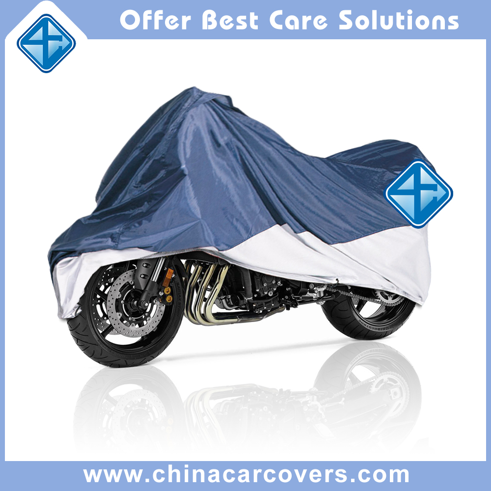 Factory supplier product outdoor Waterproof Foldable Motorcycle Cover