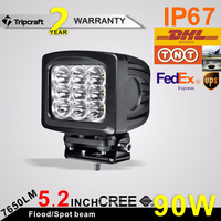 90W LED Offroad light motorcycle led driving lights 90w led driving lights