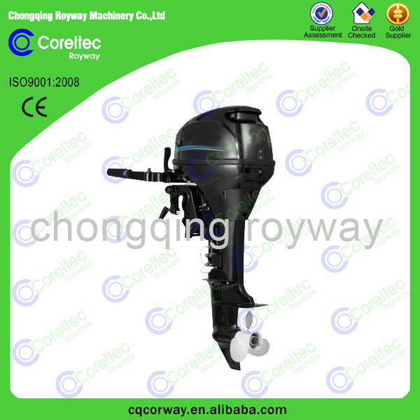 Remote control electric start cooling 4-stroke 2 cylinder 5hp to 25 hp chinese outboard motor