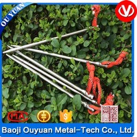 Best price for Outdoor Camping Accessory Titanium nail tent peg