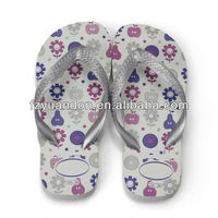 Eco-friendly 2013 latest design cheap fashion fancy promotional comfortable childrens shoes flip flop