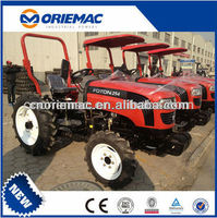 China Cheap 25HP FOTON LOVOL 4WD narrow track farm tractor TE254 for sale