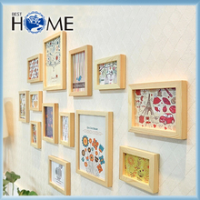 Logo Printed Different Types Wholesale Wooden Photo Frames