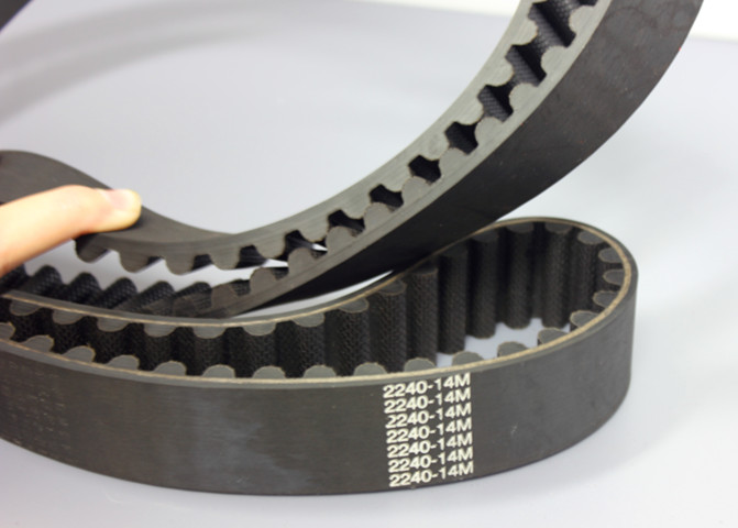 high quality HTD industrial Rubber timing belts made in china