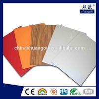 Hot selling exterior wall panels/shuangous price/acm/aluminum composite panel made in China