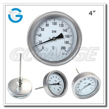 High quality stainless steel steam temperature gauge