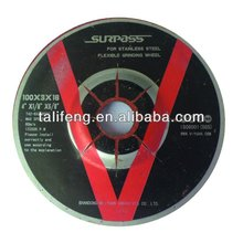3m DC abrasive grinding wheel for metal/glass/stone/granite/marble