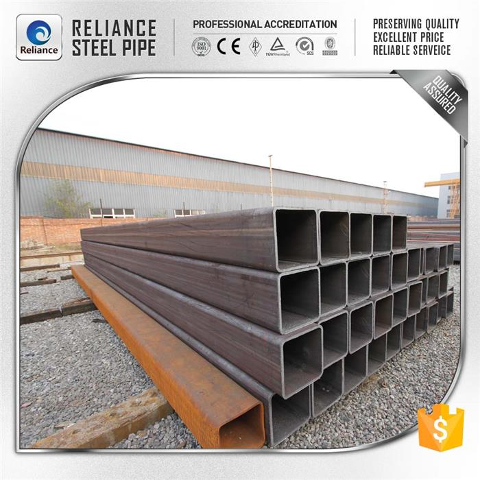 rhs structural steel shs square steel profile for china export