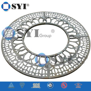 Round Cast Iron Tree Grating Factory