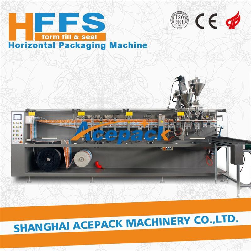 vacuum horizontal form - fill - seal 3 side sealing packa with CE certificate