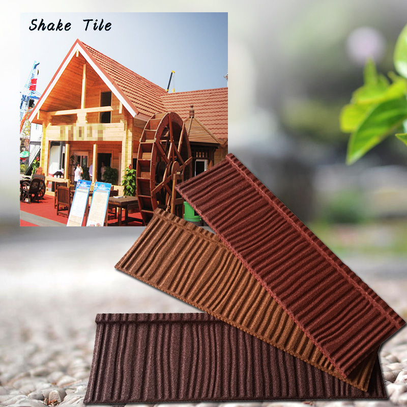 Acid Resistance terracotta fish scale copper stone metal chip roof tile