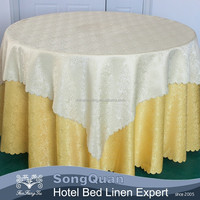 Custom chinese table cloth used