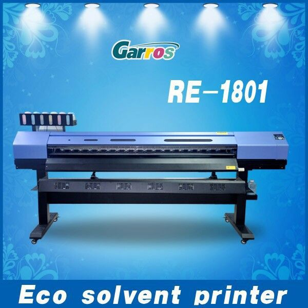 1440 dpi Dx8 printer for outdoor advertisinng eco solvent ink printing /6colors