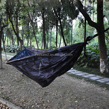 2017 hot-selling hanging single hammock swings bed parachute hammock for camp