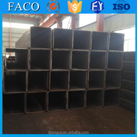 Tianjin square rectangular pipe ! erw pipe standard dimensions 100x50mm rectangular steel pipe