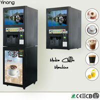 Coin/bill Coffee Vending Machine Manufacture,4 Flavors Coffee Vending Machine With Wholesale Price