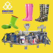 Rotary 1/2/3 Colors Rain Boots Injection Moulding Machine