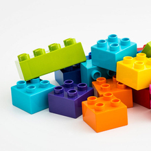 Plastic injection mould China mold factory plastic bricks educational toys block for kids