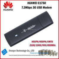 Original Unlock HSDPA 7.2Mbps HUAWEI E1750 3G USB Sim Card Dongle And 3G USB Modem