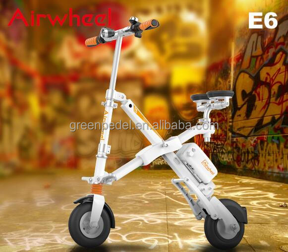 Hot sale mini motorbikes for sale , Airwheel E6 balanced scooter with USB port