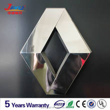 3d vacuum forming chromed auto logo,car led logo with 5 years warranty