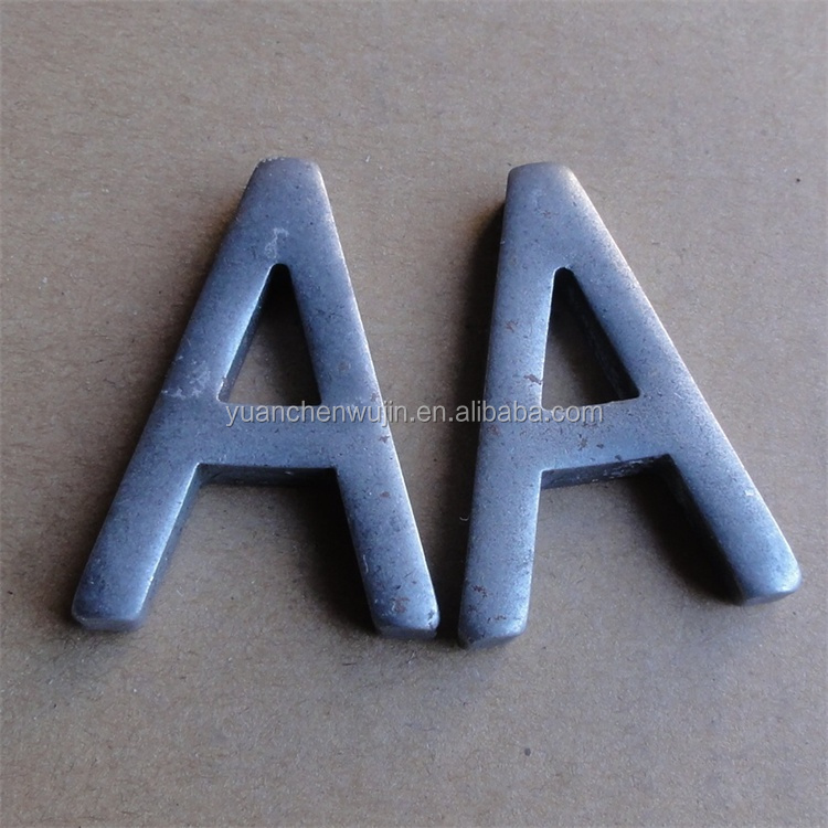 Metal crafts alphabet letters buy small metal letters for Where can i buy metal letters