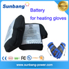 special design high quanlity rechargeble polymer 2P-103450 3600mah 3.7v battery for heated gloves