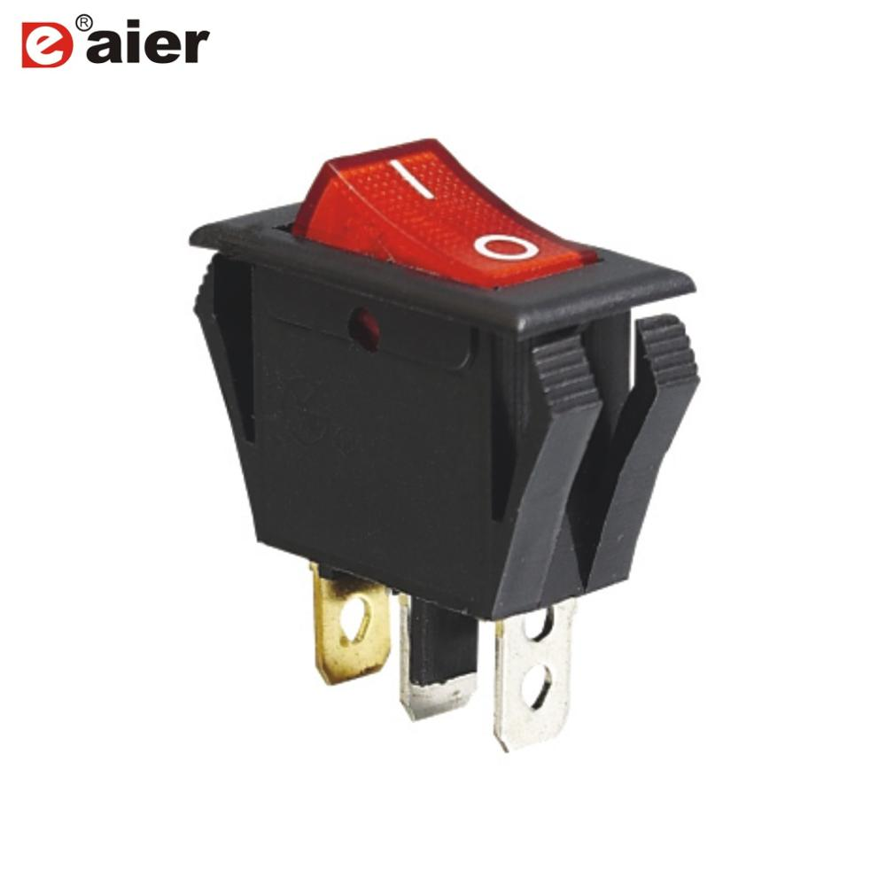 Wholesale Rocker Switch 10 A Online Buy Best Switches Illuminated Red Led Oval 16 Amp Kcd3 101en 2 Dot Mini Strongrocker Strong