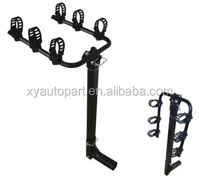 steel bike carrier for car rear tow bar