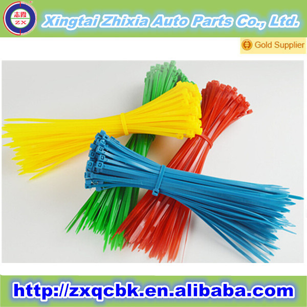 Hot sell !! ZX Nylon 66 Cable Ties for self-locking/plastic zip cable ties/cable organizer