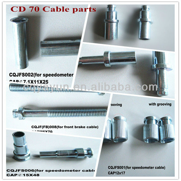 CD70 Motocycle part of cable and component