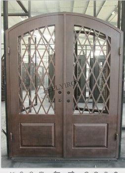 Iron Main Entrance Doors Design Metal Grill Door Buy